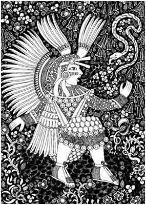 xochiquetzal aztec goddess of the flowering earth xochiquetzal    Xochiquetzal Symbol